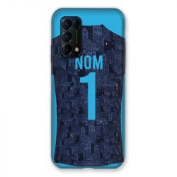 Coque Pour Oppo Find X3 Lite Personnalisee Maillot Football Olympique Marseille Exterieur