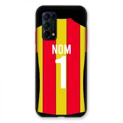 Coque Pour Oppo Find X3 Lite Personnalisee Maillot Football RC Lens