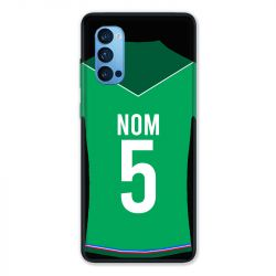 Coque Pour Oppo Reno 4 Pro Personnalisee Maillot Football AS Saint Etienne
