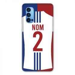 Coque Pour Oppo Reno 4 Pro Personnalisee Maillot Football Olympique Lyonnais Domicile