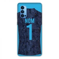 Coque Pour Oppo Reno 4 Pro Personnalisee Maillot Football Olympique Marseille Exterieur