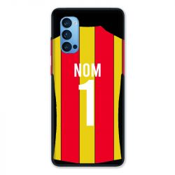 Coque Pour Oppo Reno 4 Pro Personnalisee Maillot Football RC Lens