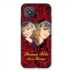 Coque Pour Oppo Reno 4Z Personnalisee Fete Des Meres Roses Rouges