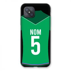 Coque Pour Oppo Reno 4Z Personnalisee Maillot Football AS Saint Etienne