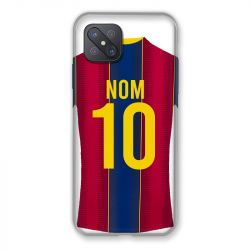 Coque Pour Oppo Reno 4Z Personnalisee Maillot Football FC Barcelone