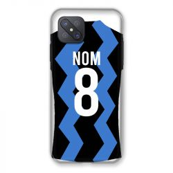 Coque Pour Oppo Reno 4Z Personnalisee Maillot Football FC Inter Milan