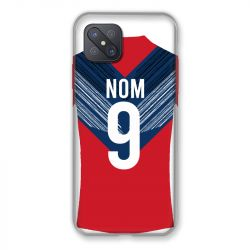 Coque Pour Oppo Reno 4Z Personnalisee Maillot Football LOSC Lille
