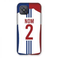 Coque Pour Oppo Reno 4Z Personnalisee Maillot Football Olympique Lyonnais Domicile