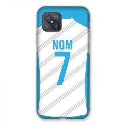 Coque Pour Oppo Reno 4Z Personnalisee Maillot Football Olympique Marseille Domicile