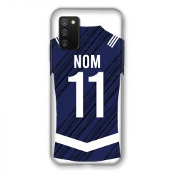 Coque Pour Samsung Galaxy A02S Personnalisee Maillot Footbal Girondins Bordeaux