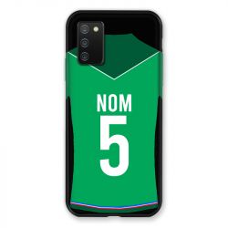 Coque Pour Samsung Galaxy A02S Personnalisee Maillot Football AS Saint Etienne