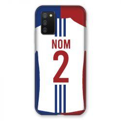 Coque Pour Samsung Galaxy A02S Personnalisee Maillot Football Olympique Lyonnais Domicile