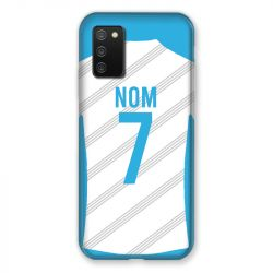 Coque Pour Samsung Galaxy A02S Personnalisee Maillot Football Olympique Marseille Domicile