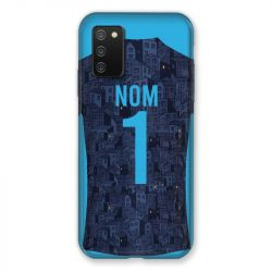 Coque Pour Samsung Galaxy A02S Personnalisee Maillot Football Olympique Marseille Exterieur