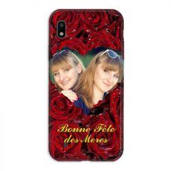 Coque Pour Samsung Galaxy A10 Personnalisee Fete Des Meres Roses Rouges