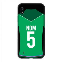 Coque Pour Samsung Galaxy A10 Personnalisee Maillot Football AS Saint Etienne