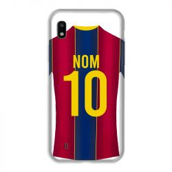 Coque Pour Samsung Galaxy A10 Personnalisee Maillot Football FC Barcelone