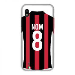 Coque Pour Samsung Galaxy A10 Personnalisee Maillot Football Milan AC
