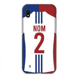 Coque Pour Samsung Galaxy A10 Personnalisee Maillot Football Olympique Lyonnais Domicile
