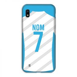 Coque Pour Samsung Galaxy A10 Personnalisee Maillot Football Olympique Marseille Domicile