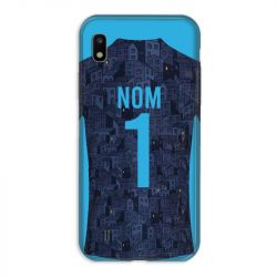 Coque Pour Samsung Galaxy A10 Personnalisee Maillot Football Olympique Marseille Exterieur