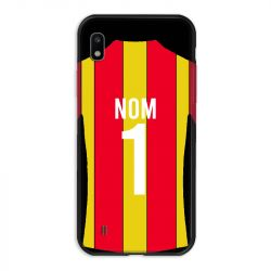 Coque Pour Samsung Galaxy A10 Personnalisee Maillot Football RC Lens
