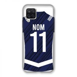 Coque Pour Samsung Galaxy A12 Personnalisee Maillot Footbal Girondins Bordeaux