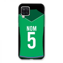 Coque Pour Samsung Galaxy A12 Personnalisee Maillot Football AS Saint Etienne