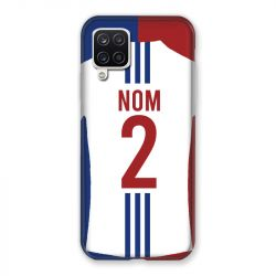 Coque Pour Samsung Galaxy A12 Personnalisee Maillot Football Olympique Lyonnais Domicile