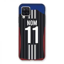 Coque Pour Samsung Galaxy A12 Personnalisee Maillot Football Olympique Lyonnais Exterieur