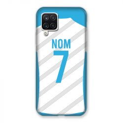 Coque Pour Samsung Galaxy A12 Personnalisee Maillot Football Olympique Marseille Domicile