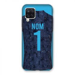 Coque Pour Samsung Galaxy A12 Personnalisee Maillot Football Olympique Marseille Exterieur