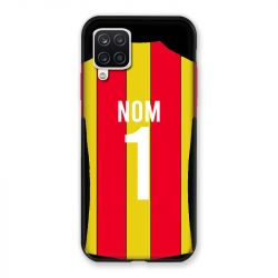 Coque Pour Samsung Galaxy A12 Personnalisee Maillot Football RC Lens