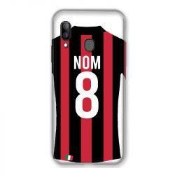 Coque Pour Samsung Galaxy A20e Personnalisee Maillot Football Milan AC