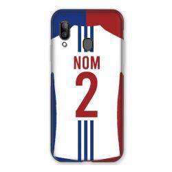 Coque Pour Samsung Galaxy A20e Personnalisee Maillot Football Olympique Lyonnais Domicile