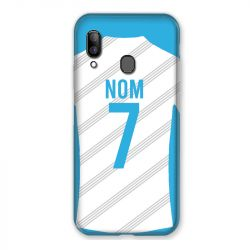 Coque Pour Samsung Galaxy A20e Personnalisee Maillot Football Olympique Marseille Domicile