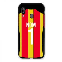 Coque Pour Samsung Galaxy A20e Personnalisee Maillot Football RC Lens