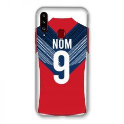 Coque Pour Samsung Galaxy A20S Personnalisee Maillot Football LOSC Lille