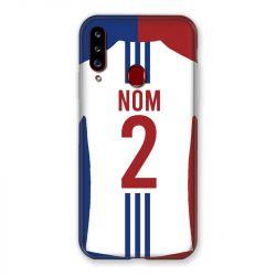 Coque Pour Samsung Galaxy A20S Personnalisee Maillot Football Olympique Lyonnais Domicile