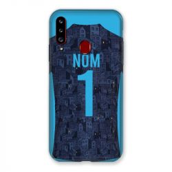 Coque Pour Samsung Galaxy A20S Personnalisee Maillot Football Olympique Marseille Exterieur