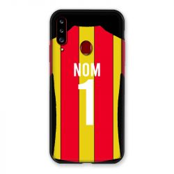 Coque Pour Samsung Galaxy A20S Personnalisee Maillot Football RC Lens