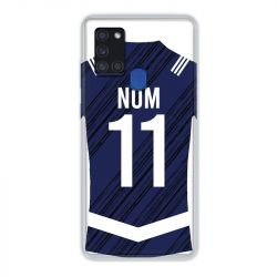 Coque Pour Samsung Galaxy A21S Personnalisee Maillot Footbal Girondins Bordeaux