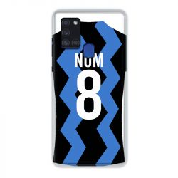 Coque Pour Samsung Galaxy A21S Personnalisee Maillot Football FC Inter Milan