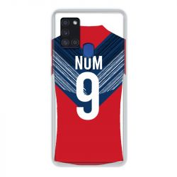 Coque Pour Samsung Galaxy A21S Personnalisee Maillot Football LOSC Lille