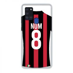 Coque Pour Samsung Galaxy A21S Personnalisee Maillot Football Milan AC