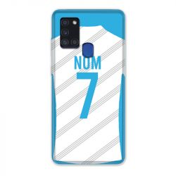 Coque Pour Samsung Galaxy A21S Personnalisee Maillot Football Olympique Marseille Domicile