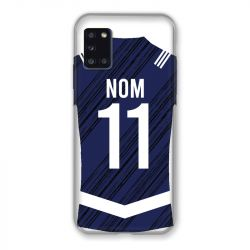 Coque Pour Samsung Galaxy A31 Personnalisee Maillot Footbal Girondins Bordeaux