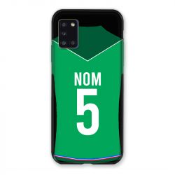 Coque Pour Samsung Galaxy A31 Personnalisee Maillot Football AS Saint Etienne