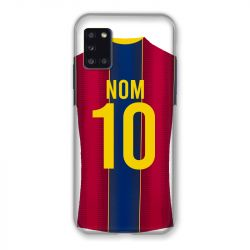 Coque Pour Samsung Galaxy A31 Personnalisee Maillot Football FC Barcelone