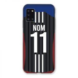 Coque Pour Samsung Galaxy A31 Personnalisee Maillot Football Olympique Lyonnais Exterieur
